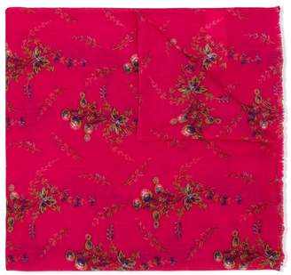 Bonpoint flower printed scarf