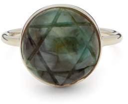 Noor Fares Anahata Matrix Emerald & Gold Ring - Womens - Green