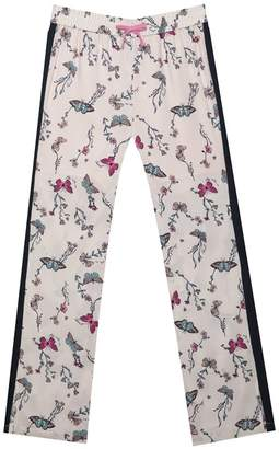 Juicy Couture Butterfly Garden Satin Track Pant for Girls