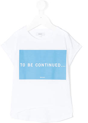DKNY to be continued T-shirt
