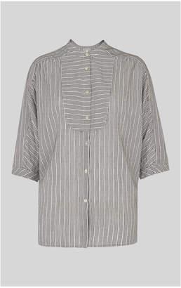 Whistles Beatrice Stripe Shirt