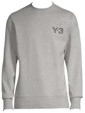 Y-3 Logo Crewneck Sweatshirt