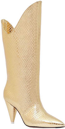 ATTICO The Betta Smooth Pointed Boots