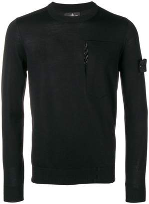 Stone Island Shadow Project crew-neck jumper