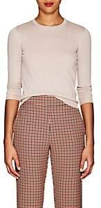 Barneys New York Women's Metallic Silk-Blend Sweater - Pink