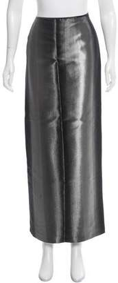 Jean Paul Gaultier Metallic Maxi Skirt