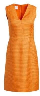Akris Punto V-Neck Shift Dress