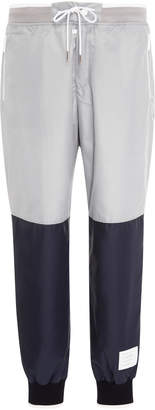 Thom Browne Two-Tone Shell Track Pants