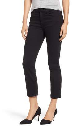 Jen7 Stretch Crop Straight Leg Jeans