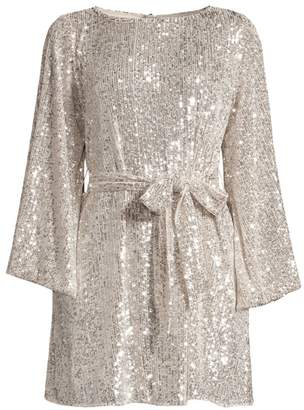 Jay Godfrey Maggie Sequin Mesh Dress
