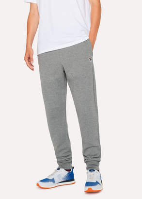 Paul Smith Men's Grey Zebra Logo Cotton Sweatpants
