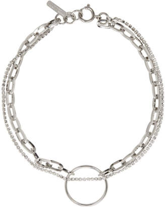 Justine Clenquet Silver Lina Choker