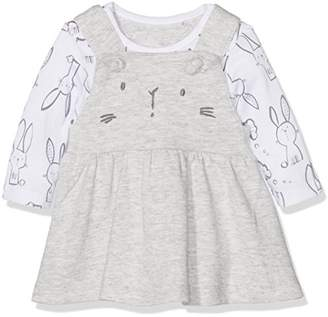 Mothercare Bunny Bodysuit And Dress Set,(up to 14.5lbs, 6.5kg, 62cm height)