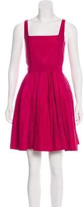 Lanvin Sleeveless A-Line Dress