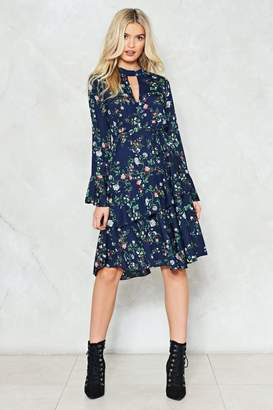 Nasty Gal Spring into Action Floral Dress