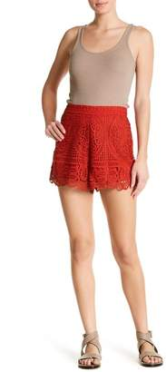 Lovers + Friends Lace Shorts