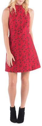 Kensie Scattered Floral Brocade Dress $99 thestylecure.com