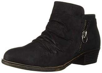 Sugar Women's Trust Casual Ruched Scrunch Bootie Ankle Boot