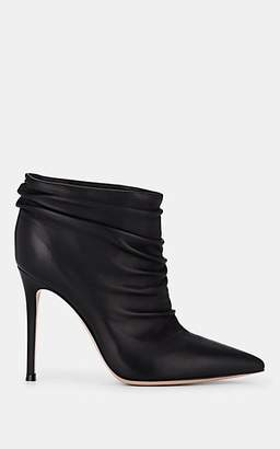 Gianvito Rossi Women's Leather Ankle Boots - Black