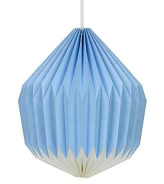 Wild Wood Paper Lampshade - Cornflower Blue, Paper
