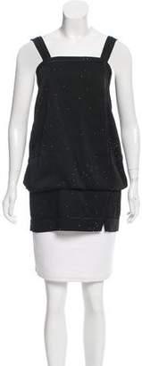 Marc Jacobs Embellished Sleeveless Tunic