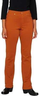 Isaac Mizrahi Live! Icon Grace Petite Ponte Knit Pants