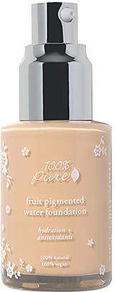 100% Pure Fruit Pigmented Water Foundation.