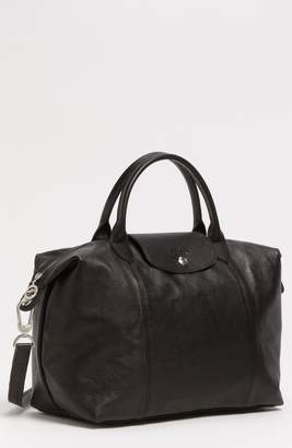 at Nordstrom · Longchamp Medium  Le Pliage Cuir  Leather Top Handle Tote 85b7aa5256