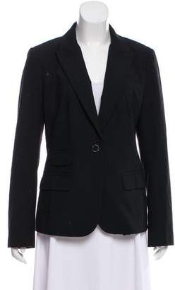 Tory Burch Wool One-Button Blazer