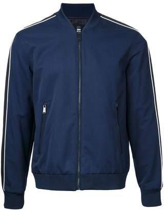 Kent & Curwen contrast stripe bomber jacket