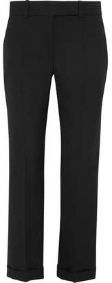 Haider Ackermann - Embroidered Wool Straight-leg Pants - Black $1,170 thestylecure.com