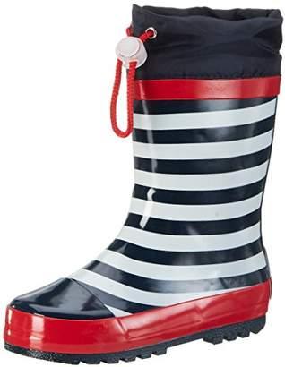 Playshoes Unisex Kids' Maritim Wellington Boots,13.5 Child UK 32/33 EU
