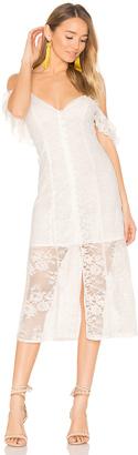 MAJORELLE White Oak Dress $228 thestylecure.com