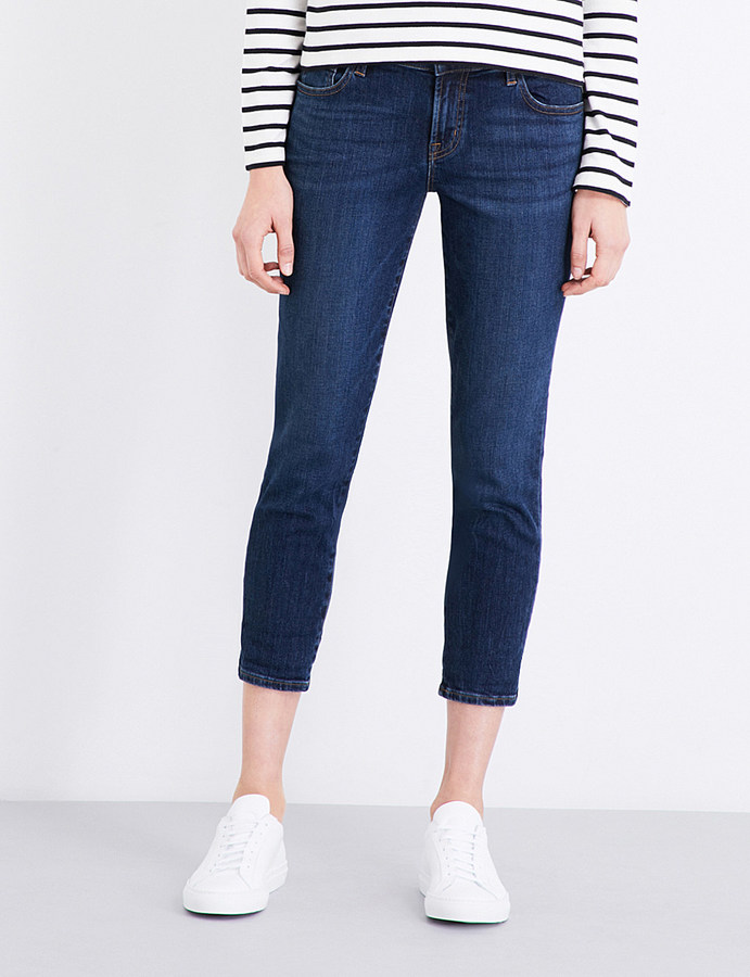 J BrandJ BRAND Sadey slim straight mid-rise jeans