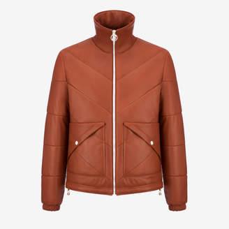 Bally Nappa Leather Puffer Jacket