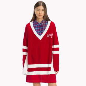 Tommy Hilfiger Varsity V-Neck Sweater
