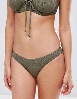 Pour Moi? Pour Moi Textured Bikini Bottom