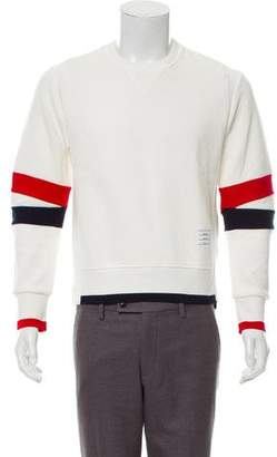 Thom Browne Striped Crew Neck Sweater