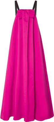 Rochas Strapless Trapeze Gown With Bow