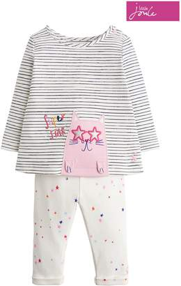 Next Girls Joules Cream Baby Olivia Set