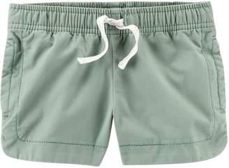 Carter's Girls 4-8 Color Side-Split Shorts