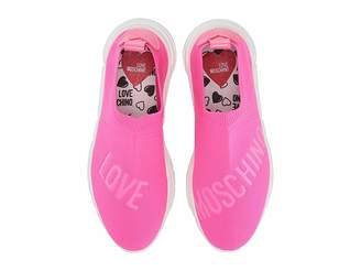 Love Moschino Sock Sneaker with Logo