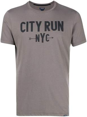 Woolrich City Run print T-shirt
