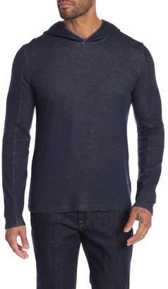 John Varvatos Solid Lined Pullover Hoodie