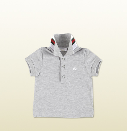 Gucci Baby Short Sleeve Polo