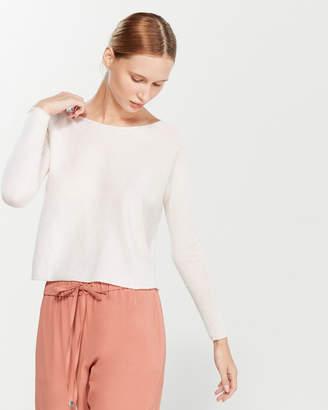 Liviana Conti Cropped Cashmere Sweater