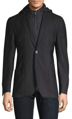 Corneliani Tailored Wool Sportcoat