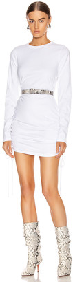 Cotton Citizen Lisbon Shirt Dress in White | FWRD