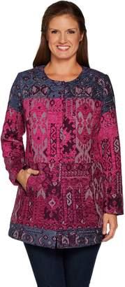 Susan Graver Artisan Embellished Tapestry Jacket