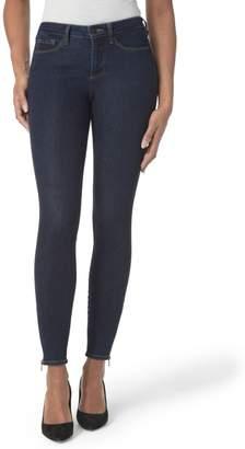 NYDJ Dylan Ankle Zipper Hem Skinny Jeans (Rinse)